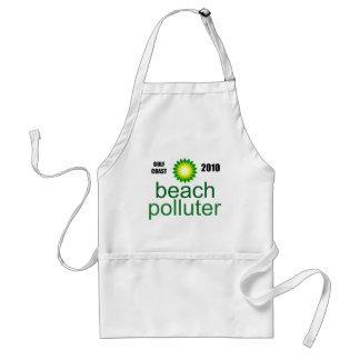 Beach Polluter - Gulf Coast 2010 Aprons
