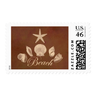 Beach Postage Stamps