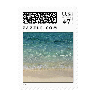 Beach Postage 2 Small Vertical
