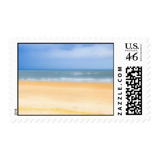 Beach Postage Stamp