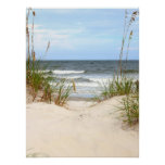 Beach Poster at Zazzle
