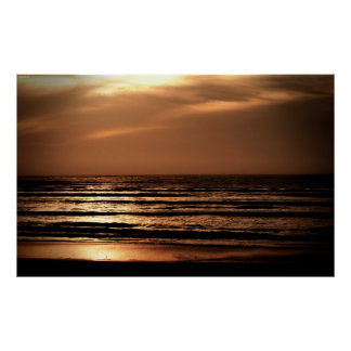 """""""Beach"""" Poster - Extra Large (38"""" x 24"""")"""