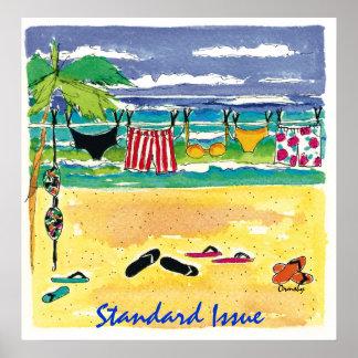 Beach -poster poster