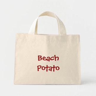 Beach Potato Mini Tote Bag