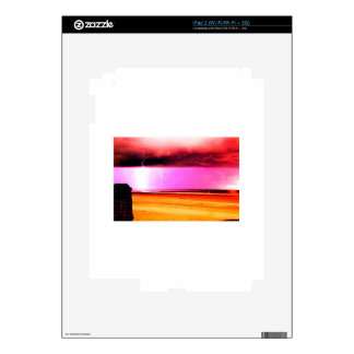 beach power Storms at the beach are beautiful iPad 2 Decal