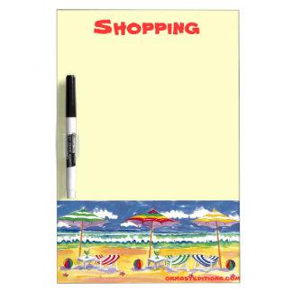 Beach Property dry erase board