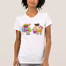 Beach Pugs Tees - Add Your Own Text!