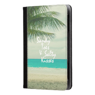 Beach Quote Kindle Case at Zazzle