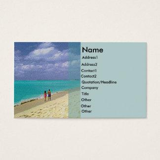 Beach Rack Card