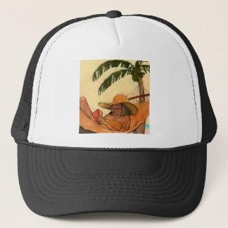 Beach Reading hat