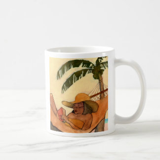 Beach Reading mug