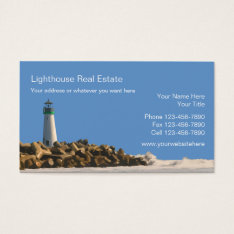Beach Real Estate Business Cards at Zazzle