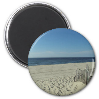 Beach Relaxation 2 Inch Round Magnet