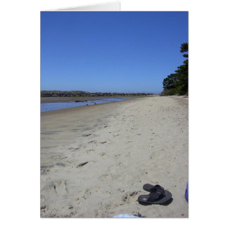Beach Relaxation Card