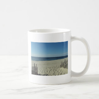 Beach Relaxation Classic White Coffee Mug