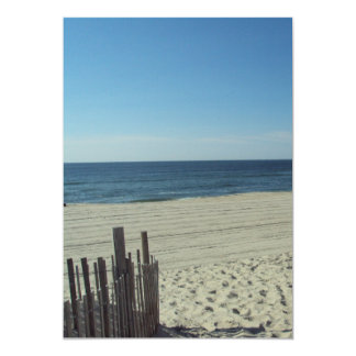 Beach Relaxation 5x7 Paper Invitation Card