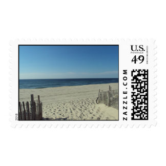 Beach Relaxation Postage Stamps