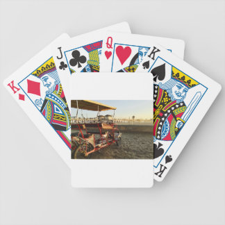 Beach Rentals Bicycle Playing Cards