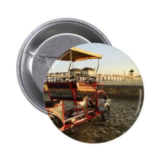 Beach Rentals Pinback Button