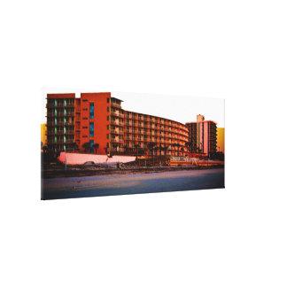 Beach Resorts in Daytona Beach Florida Landscape A Canvas Print