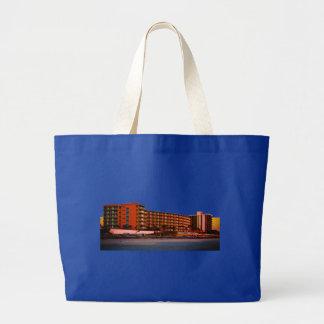 Beach Resorts in Daytona Beach Florida Landscape Large Tote Bag