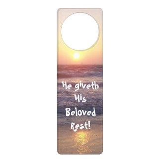 Beach Rest! Door Hanger