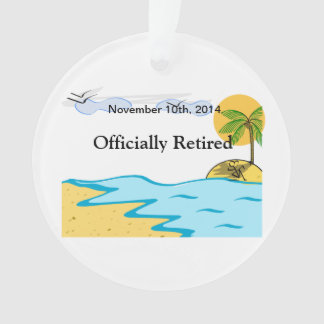 Beach Retirement Add Name And Date