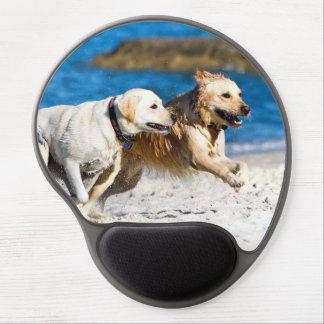 Beach Retrievers Design Gel Mouse Pad