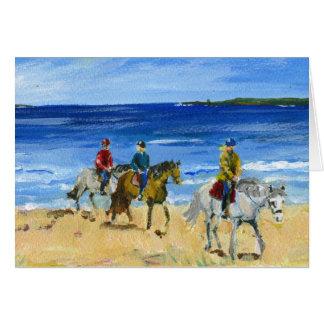 Beach ride card