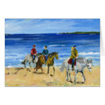 Beach ride stationery note card