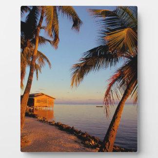Beach Roatan Honduras Display Plaques