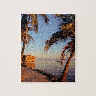 Beach Roatan Honduras Jigsaw Puzzle