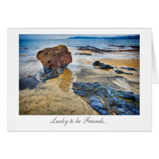 Beach Rock - Friendship Greeting Cards