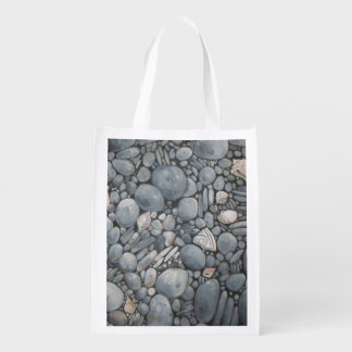 Beach Rocks and Stones Pebbles Grocery Bag