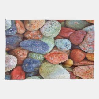 Beach rocks   Kitchen towel