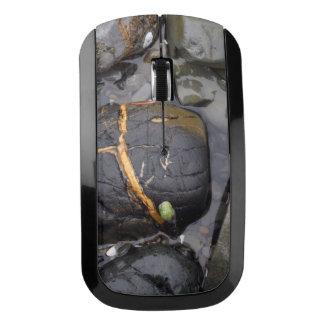 Beach Rocks Wireless Mouse