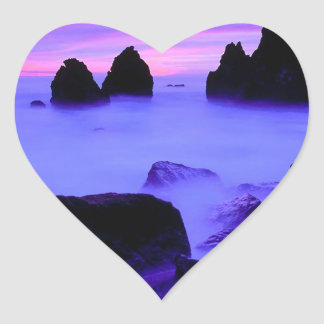 Beach Rodeo Marin Heart Sticker