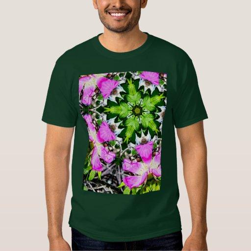 Beach Rose Kaleidoscope T-Shirt
