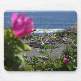 Beach Rose Mouse Pad