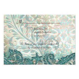 Beach RSVP Wedding Reply Card Dolphins Personalized Announcements