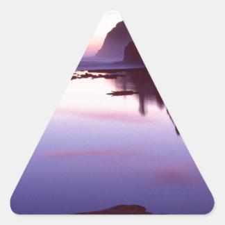 Beach Ruby Park Triangle Sticker