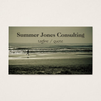 Beach Runner Business Card