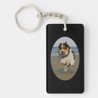 Beach Runner Keychain