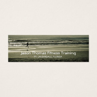 Beach Runner Mini Business Card