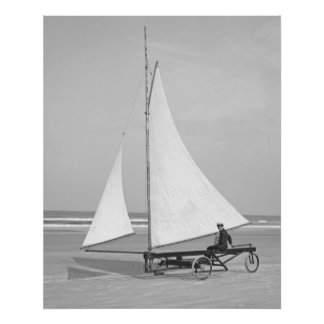 Beach Sailor 1903 Poster