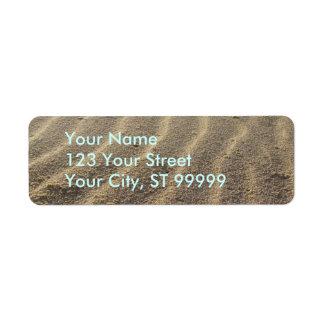 Beach Sand Address Labels