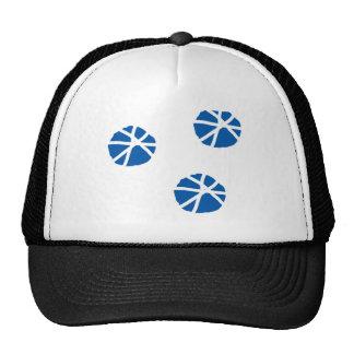 Beach Sand Dollars Inspiration Blue White Art Trucker Hat