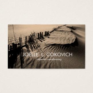 Beach Sand Dunes Business Card