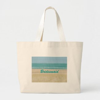 Beach Sand Ocean Scene Bridesmaid Bags