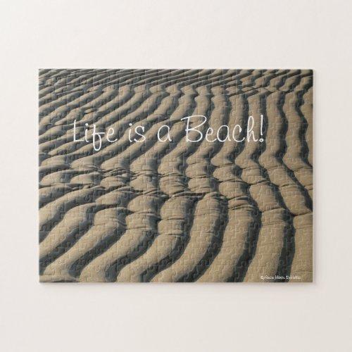 Beach Sand Puzzle fuji_puzzle